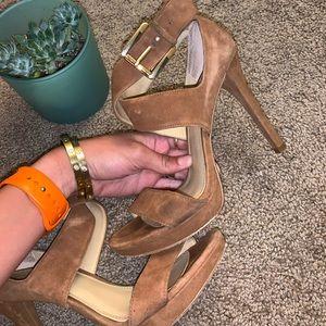 Michael Kors Shoes - Suede Michael Kors Heels